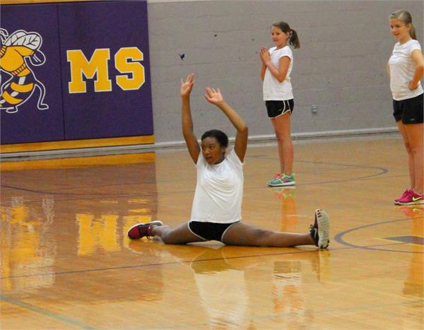2015 Cheerleading Tryouts
