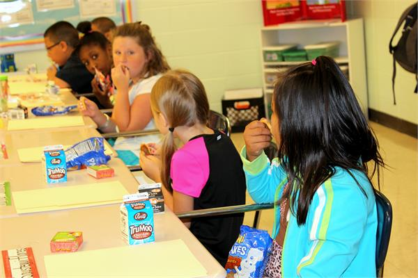 Free Breakfast/Lunch provided to Elementary students